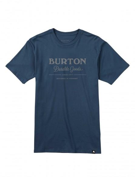 Burton DURABLE GOODS Herren T-Shirt, Mood Indigo