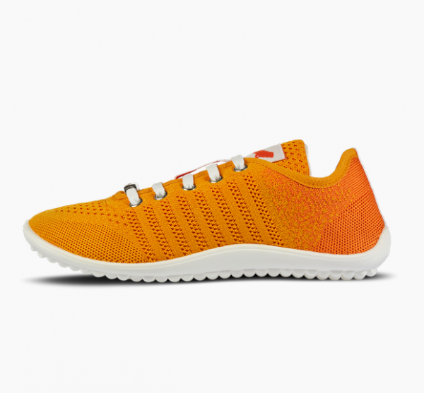 Leguano GO: Unisex Barfußschuh, Orange