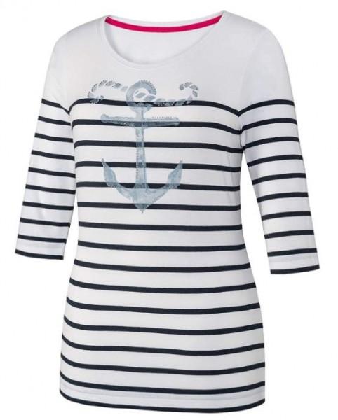 JOY sportswear AGNETHA Damen T-Shirt, White striped