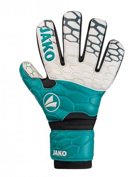 JAKO PRESTIGE BASIC RC Kinder TW-Handschuh, Türkis/Anthrazit