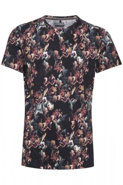 Blend TEE SLIM FIT Herren T-Shirt, Black