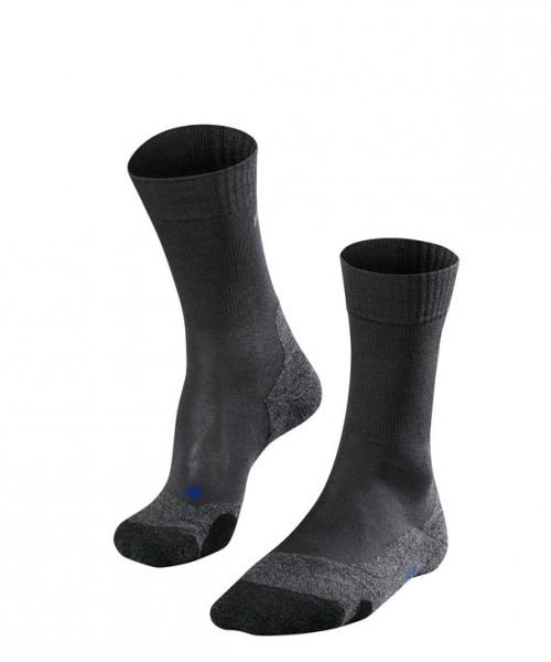 Falke TK2 COOL Herren Trekking Socken, Asphalt-Melange