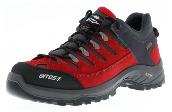 Lytos 51-0ONEX Unisex Vibram Trekkingschuhe, Rot/Grau