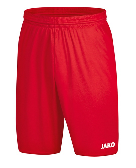 JAKO MANCHESTER 2.0 Kinder Sporthose ohne Innenslip, Rot