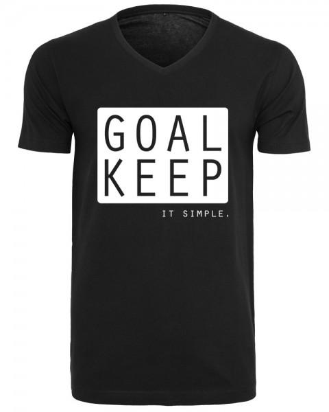zopfball NADINE ANGERER SIMPLE-SHIRT MEN`S CUT Herren T-Shirt, Black