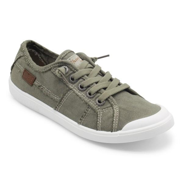 Blowfish VESPER Damen Sneaker, Paster Grey Washed Canvas