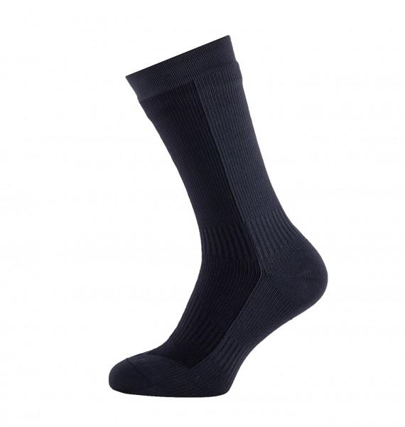 Sealskinz HIKING MID Unisex Outdoor/Sport Socken, Grey/Black