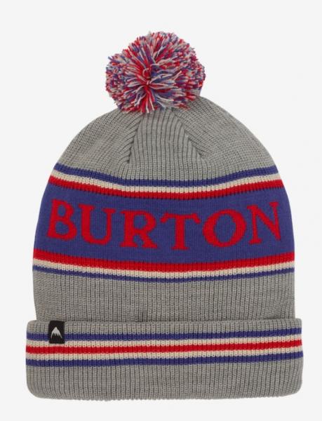 Burton TROPE Unisex Mütze, Gray Heather