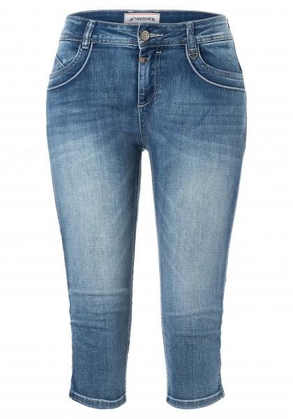 TTIMEZONE MALORY Damen Slim 3/4 Jeans, Summer Breeze Wash