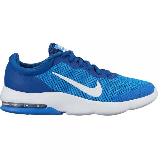 Nike AIR MAX ADVANTAGE GS Kinder Running/Laufschuh, Italy Blue/White Gym Blue