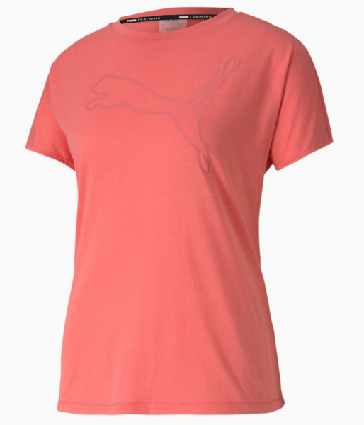 Puma CAT Damen Training T-Shirt, Ignite Pink