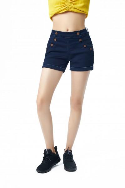 211-04-2043-23-0 aiki Keylook SAYLIN Damen Shorts, Navy