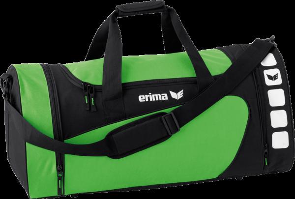 Erima CLUB 5 LINE SMALL 28L Sporttasche, Grün/Schwarz