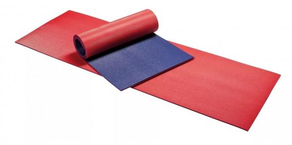 Kübler Sport Gymnastikmatte, Rot/Blau