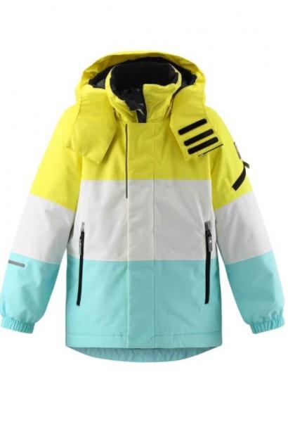 reima MOUNTAINS Kinder Skijacke, Light Turquoise