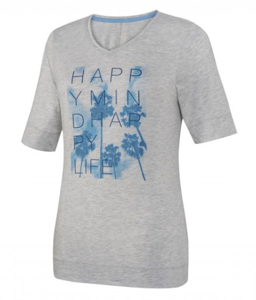 JOY sportswear ASTRID Damen T-Shirt, Azur bedruckt