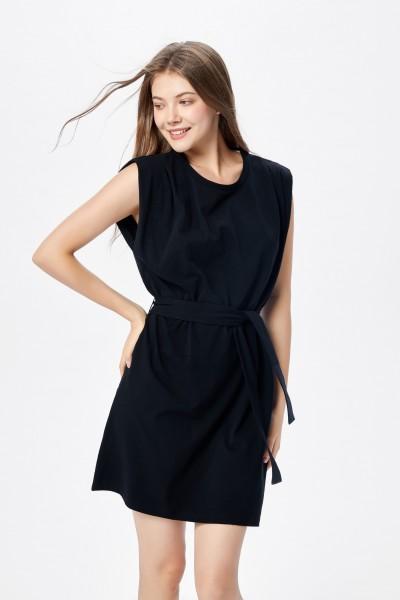 211-17-2126-01-0 aiki Keylook DRESSED OUT Damen Kleid, Black