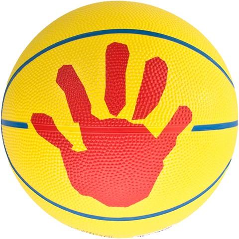 molten SB4-DBB Basketball, Gelb/Rot/Blau