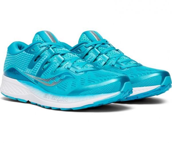 Saucony RIDE ISO Damen Running/Laufschuh, Blue