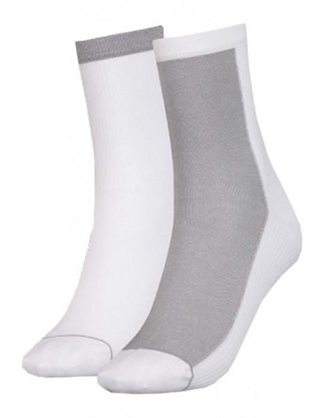 293003001300/300 Puma SOCK RADIENT Damen Socken (2er Pack), White