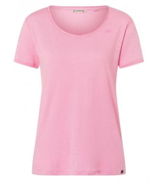 TIMEZONE Damen Basic T-Shirt, Prism Pink