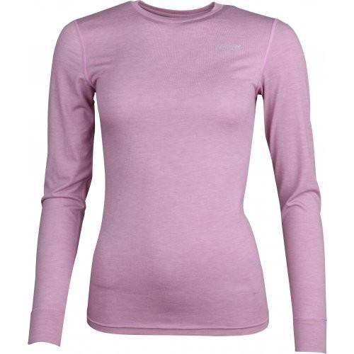 High Colorado BERGEN Damen Langarm Funktions-Shirt, Rosé Melange