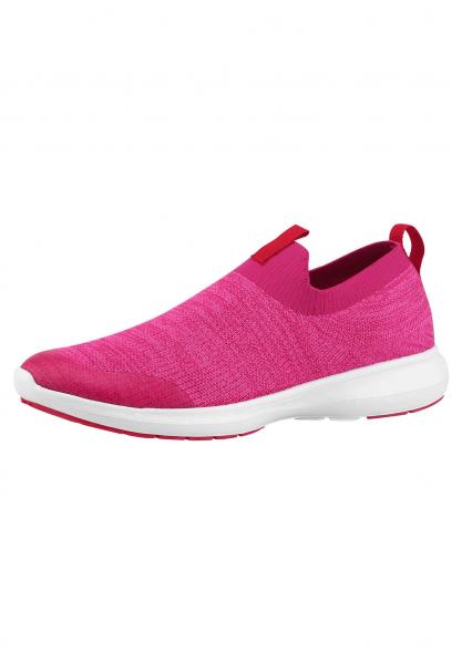 reima BOUNCING Kinder Sneaker, Cranberry Pink