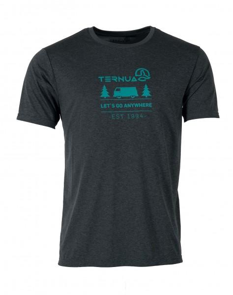 Ternua KITA M Herren T-Shirt, Whales Grey