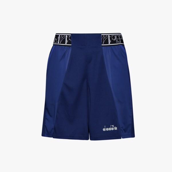 diadora BERMUDA BE ONE Herren Lauf-Shorts, Blue Print