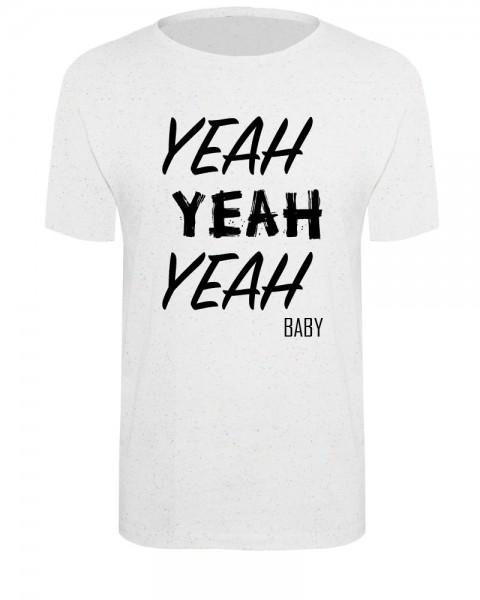 zopfball ZPFBLL YEAH-SHIRT MEN`S CUT Unisex T-Shirt, White