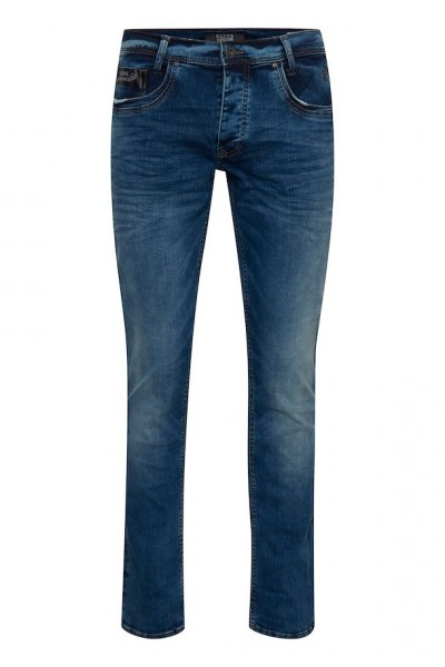 Blend BLIZZARD FIT Herren Jeans (32er Länge), Denim Middle Blue