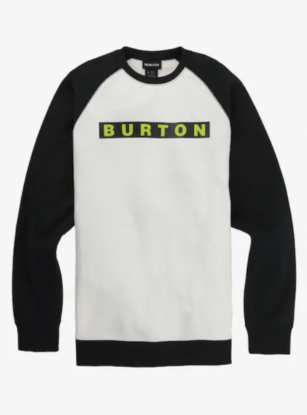 Burton VAULT Herren Sweatshirt, Stout White