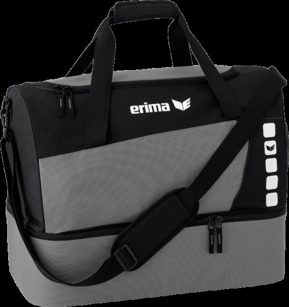 Erima CLUB 5 LINE BOTTOM SMALL 35L Sporttasche, Granit/Schwarz