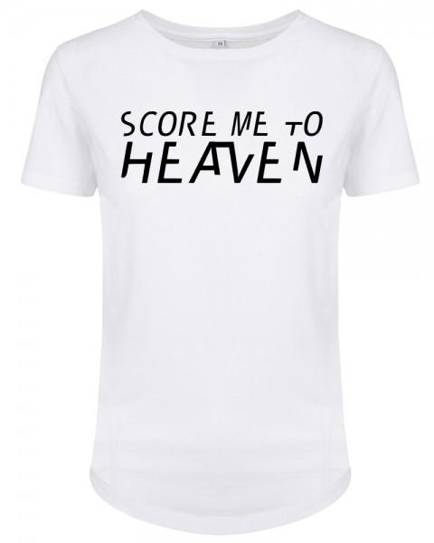 zopfball FSSBLL HEAVEN-SHIRT WOMEN`S CUT Damen T-Shirt, White