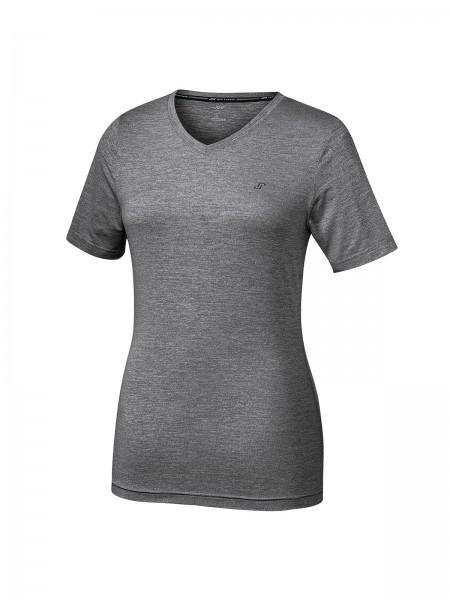 JOY sportswear ZAMIRA Damen T-Shirt, Black Melange