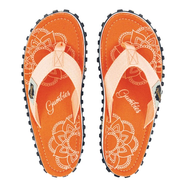 Gumbies BOHO CORAL Damen Zehentrenner, Orange