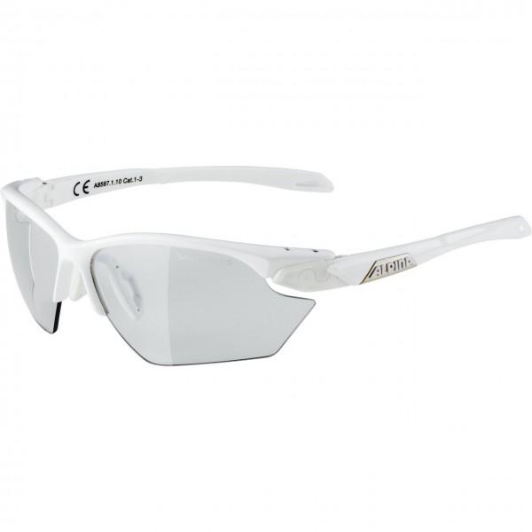 Alpina TWIST FIVE HR S VL+ Unisex Sportbrille, White