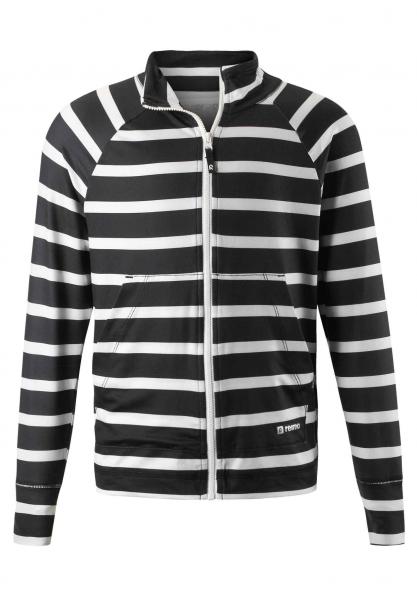 reima BRYGGE Kinder Sweatshirt, Black