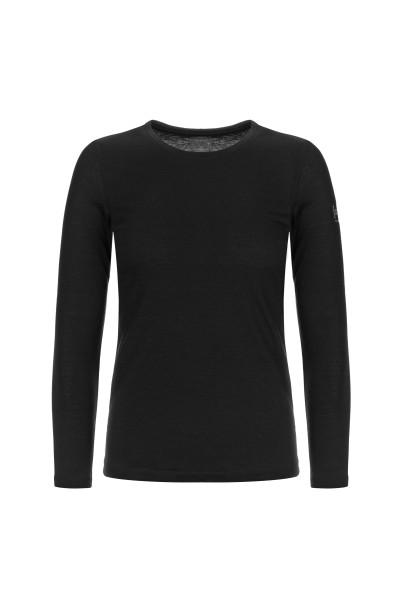 SNW004384872 super.natural W BASE LS 175 Damen Funktionsshirt (Longsleeve), Black