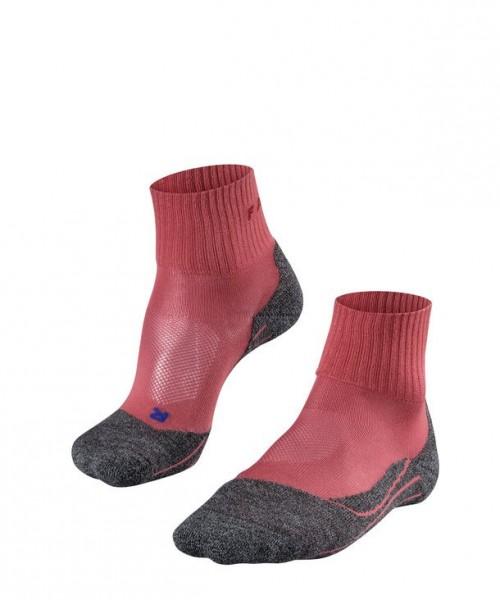 Falke TK5 SHORT COOL Damen Trekking Socken, Mixed-Berry