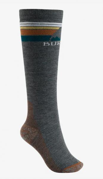 Burton EMBLEM Damen Socken (Mittelschwer), True Black