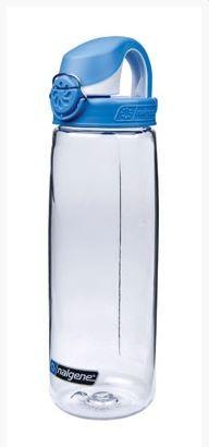 NALGENE 'OTF' 0,65 L Trinkflasche, Transparent/Blau