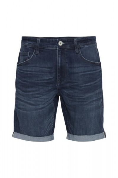 Blend DENIM Herren Shorts, Denim Middle Blue