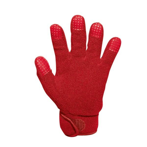 JAKO FLEECE Herren Feldspielerhandschuhe, Rot