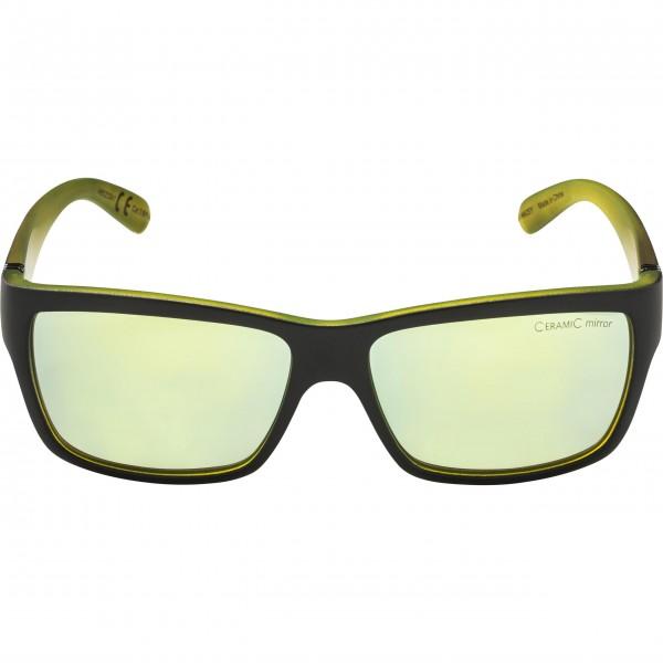 Alpina KACEY Unisex Sonnenbrille, Black Neon/Matt