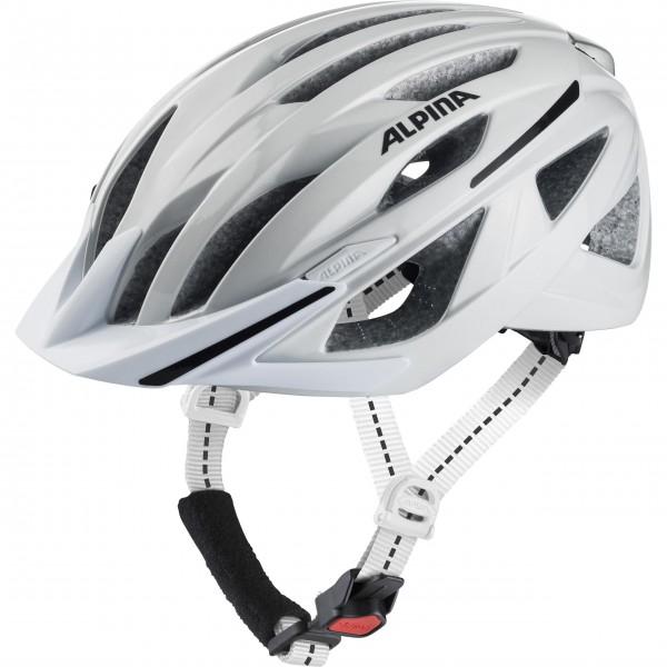 Alpina HAGA Unisex Fahrradhelm, White