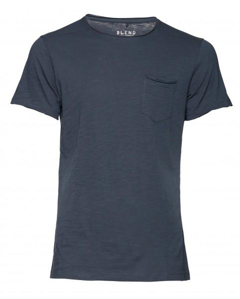 Blend NEDDY Herren T-Shirt, Midnight Blue
