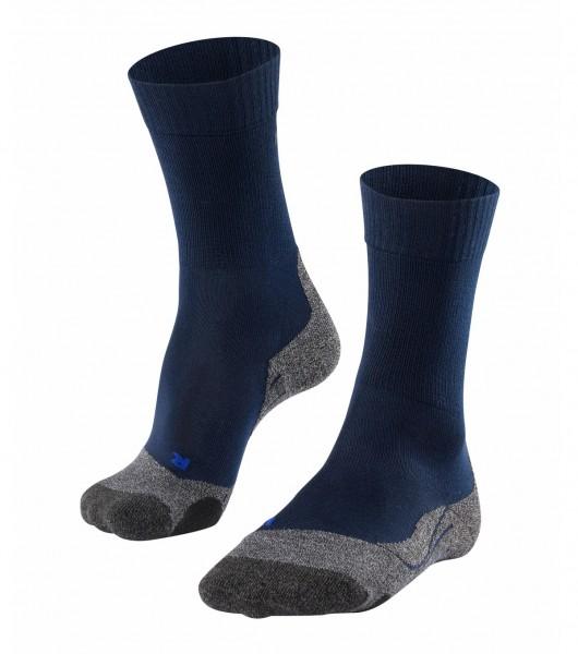 Falke TK2 COOL Herren Trekking Socken, Marine