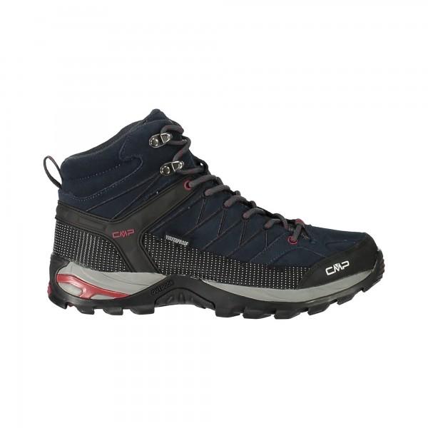 CMP Campagnolo RIGEL MID Herren Trekking Schuh, Asphalt/Syrah