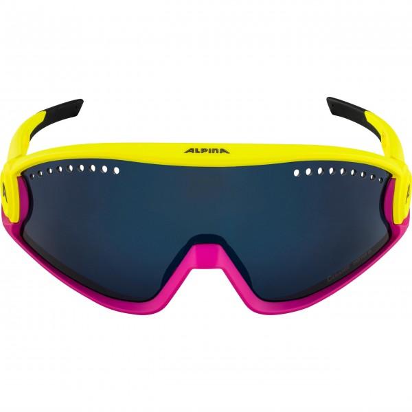 Alpina 5W1NG Damen Sportbrille, Pinaple Magenta/Matt